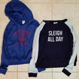 Abercrombie & Fitch, Make+ Model Sweatshirt Bundle
